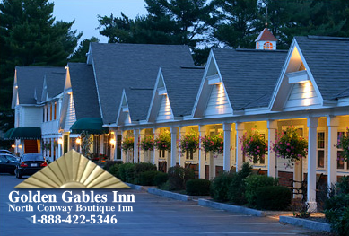 Golden Gables Inn Located In The Heart Of Mount Washington Valley